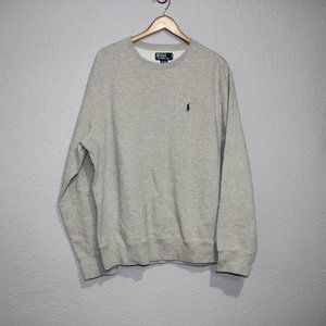 Polo by Ralph Lauren Grey Pullover Sweatshirt